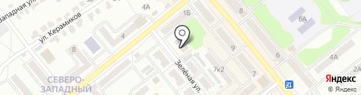 ЖЭУ №2 на карте Щёкино