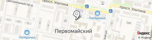 Сбербанк, ПАО на карте Первомайского