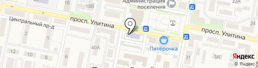 Первомайская детская музыкальная школа на карте Первомайского
