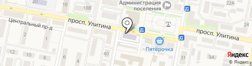 Первомайская детская школа искусств на карте Первомайского
