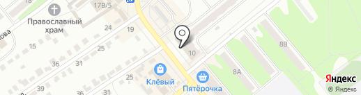 Магазин строительных и отделочных материалов и хозяйственных товаров на карте Щёкино