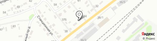 Volvo на карте Щёкино