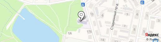 Детский сад №20 на карте Первомайского