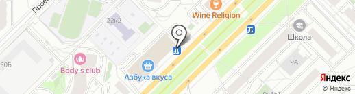 Symphony на карте Москвы