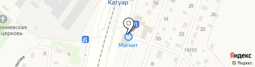 Августа на карте Некрасовского