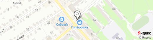 Магазин нижнего белья на карте Щёкино