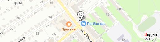 Магазин игрушек на карте Щёкино