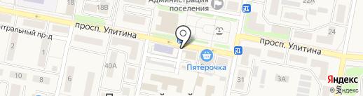 Магазин промтоваров на карте Первомайского