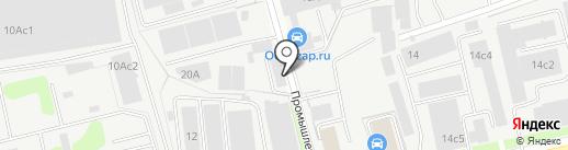 Шафранъ на карте Долгопрудного