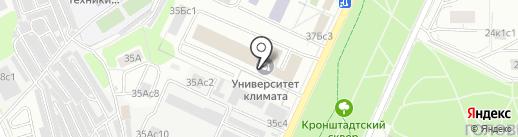 Омнис Визио на карте Москвы