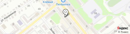 Exclusive на карте Щёкино