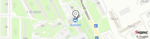 Авто-Альянс на карте Подольска