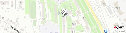 Офелия на карте Подольска