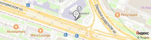 Аметист на карте Москвы