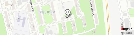Спецмонтаж на карте Долгопрудного