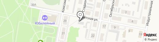 Москва на карте Первомайского
