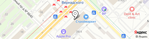 Trust Money Group на карте Москвы