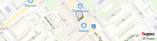 Аптечный пункт на карте Щёкино