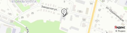 ПромКерамика на карте Щёкино