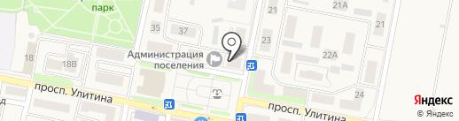 Магазин нижнего белья и постельных принадлежностей на карте Первомайского