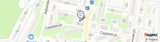 Климовчанка на карте Климовска