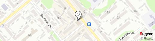 Магазин головных уборов и кожгалантереи на карте Щёкино