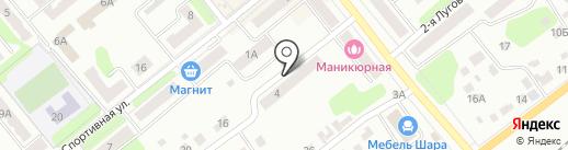 Щёкино-7 на карте Щёкино