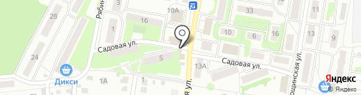 Киоск фастфудной продукции на карте Климовска