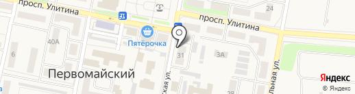 Мир детства на карте Первомайского