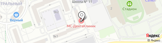 Lestyle на карте Долгопрудного
