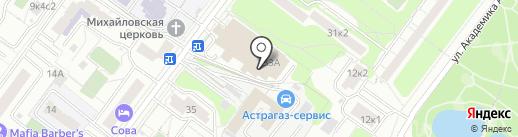 Мир запчастей на карте Москвы