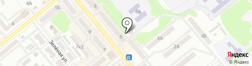 Магазин детской одежды и чулочно-носочных изделий на карте Щёкино