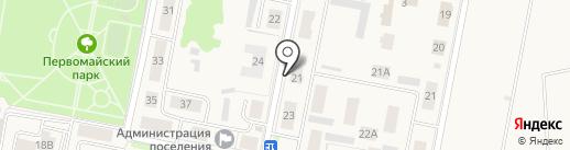 Ореол на карте Первомайского