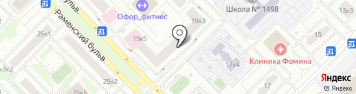 Гиацинт на карте Москвы