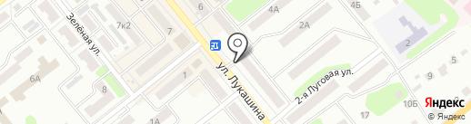 Магазин цветов на карте Щёкино