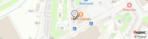 ПАСАДОР на карте Москвы