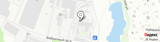 Климо на карте Климовска