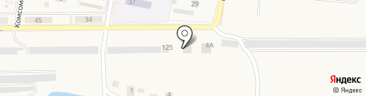 Автомойка на карте Первомайского