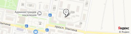 Первомайская Поселенческая библиотека на карте Первомайского