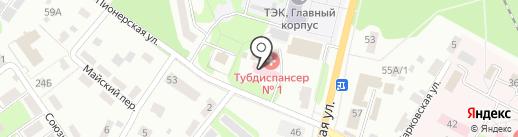 Тульский областной противотуберкулезный диспансер №1 на карте Щёкино