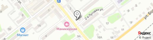 Городская библиотека №1 на карте Щёкино