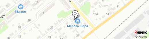 Мебель Шара на карте Щёкино