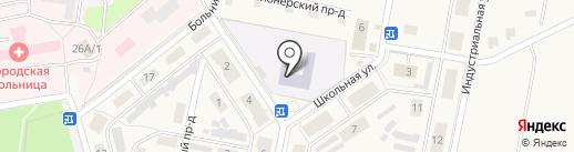 Средняя общеобразовательная школа №15 на карте Первомайского