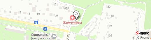 Жемчужина Подолья на карте Подольска