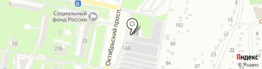 Форсаж на карте Подольска