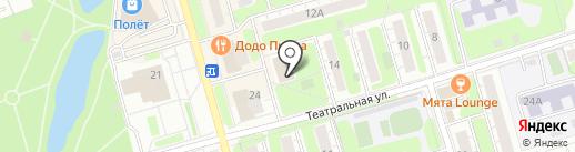 Faberlic на карте Долгопрудного