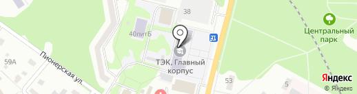 Тульский экономический колледж на карте Щёкино