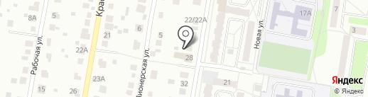 Клуб здоровья и красоты на карте Климовска