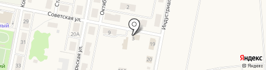 Березка на карте Первомайского