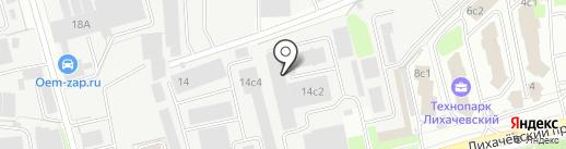Аркотек на карте Долгопрудного